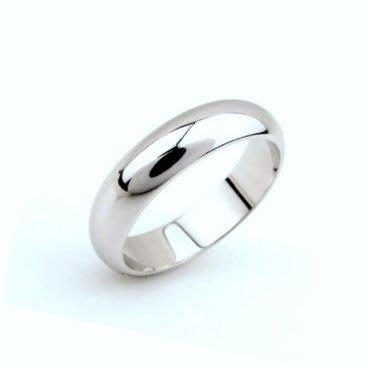 ((瑪奇亞朵的珠寶世界)) 閃亮925純銀 素面銀戒 男女皆可戴