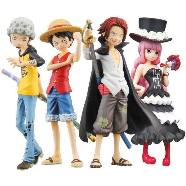 日版代理版 海賊王 航海王  Half Age Characters VOL.5 Q版羅 培羅娜 大全8款 原封中盒販售現貨