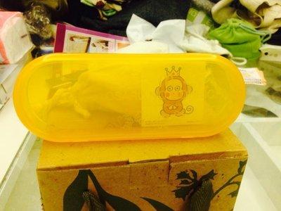 麥當勞 限量絕版品 淘氣猴鉛筆盒 全新/已絕版 特價:250元 僅有一個