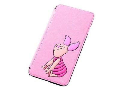 尼德斯Nydus~* 日本 Disney 迪士尼 小熊維尼 小豬 翻頁式 手機殼 iphone6+ plus 5.5吋