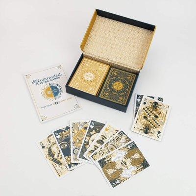 溜溜進口正版 光明撲克牌套裝Illuminated Playing Card Set(現)