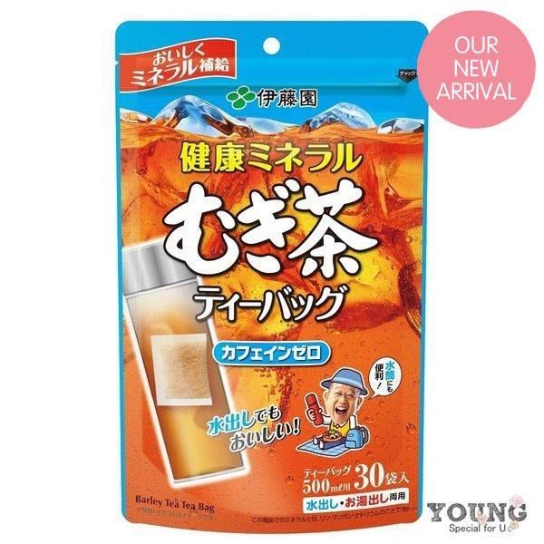 【現貨+預購】日本伊藤園大麥茶包30袋/包(可冷泡) 無糖麥茶 伊藤園麥茶包 冷泡茶 五穀麥茶包 茶袋裝 日本麥茶