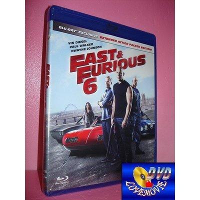 A區Blu-ray藍光正版【玩命關頭6 Furious 6 (2013)】[含中文字幕] DTS-HD版全新未拆