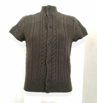 日本 女短袖毛線衣  展示新品