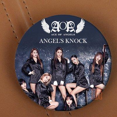 AOA 圓徽章 胸針 別針E643-C【玩之內】韓國 智珉、珉娥、雪炫