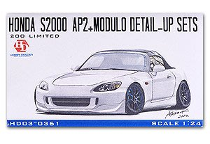 1:24 Hobby Design Honda S2000 AP2+ Modulo Detail-up Sets for Tamiya/PE/蝕刻片