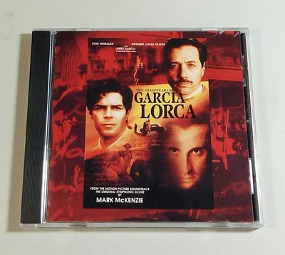 "[原聲帶] ""The Disappearance of Garcia Lorca""- Mark McKenzie,美版"