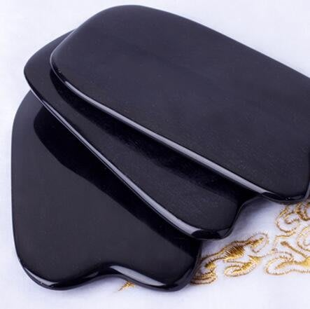 內蒙天然牛角板刮痧面部背部全身通用頸部腿部瘦腿臉部板刮痧