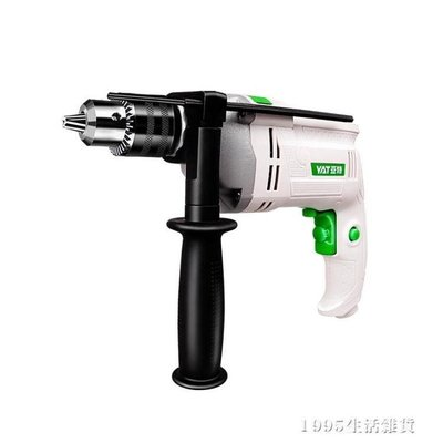 哆啦本鋪 電鑽 YAT亞特電鑚家用多功能鑚孔沖擊鑚迷你手槍鑚220V手電轉電動工具 220VD655