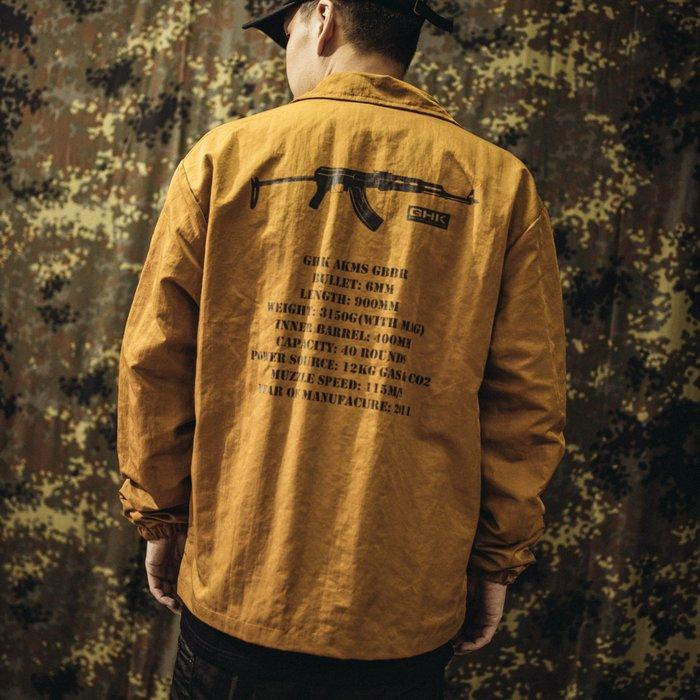 "GHK ""Veteran Collection"" Coach Jacket G-002 教練外套/土黃色"