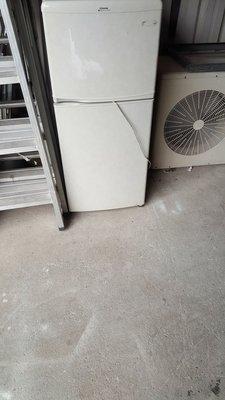 東芝雙門冰箱 七成新 3500