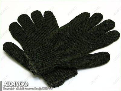 【ARMYGO】國軍制式軍綠色毛線手套
