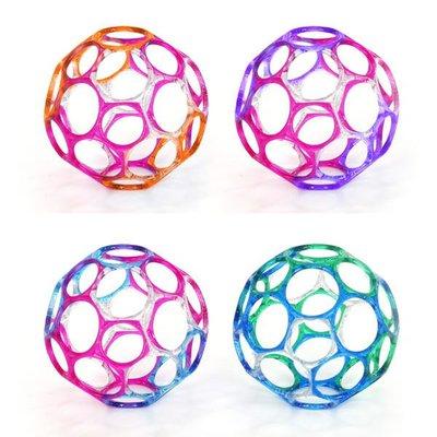 @企鵝寶貝二館@ Oball 4吋魔力洞動球-彩色日本年銷售量. 年年破百萬顆