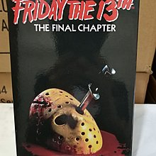 Neca Friday The 13th Jason Ultimate Part 4 Action Figure 再版