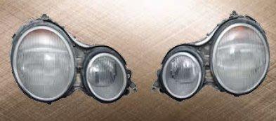 泰山美研社19012304 BENZ 賓士 W208 CLK 97-02年 鍍鉻 大燈框組