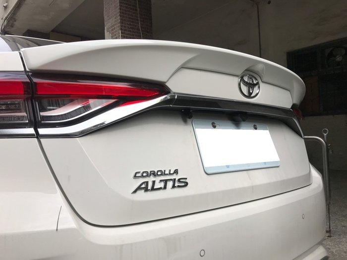 SL光電精品~2019 ALTIS 12代 原廠型 尾翼 押尾 台灣製造 ABS材質 價格含烤漆