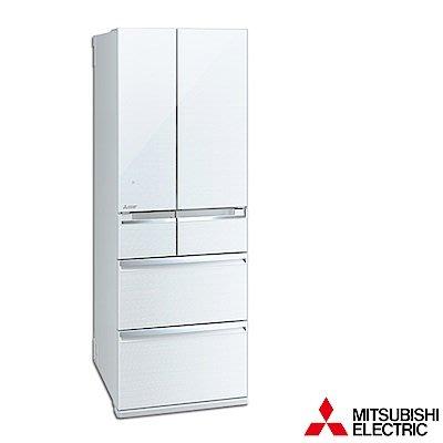 MITSUBISHI三菱 525公升 1級變頻6門電冰箱 MR-WX53C-W-C 日本原裝