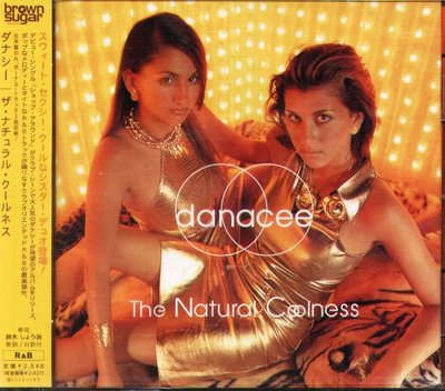 K - Danacee - The Natural Coolness - 日版 CD+1BONUS - NEW