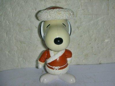 aaS1.(企業寶寶玩偶娃娃)少見1999年麥當勞發行SNOOPY史努比環遊世界2--蒙古造型公仔距今已有18年歷