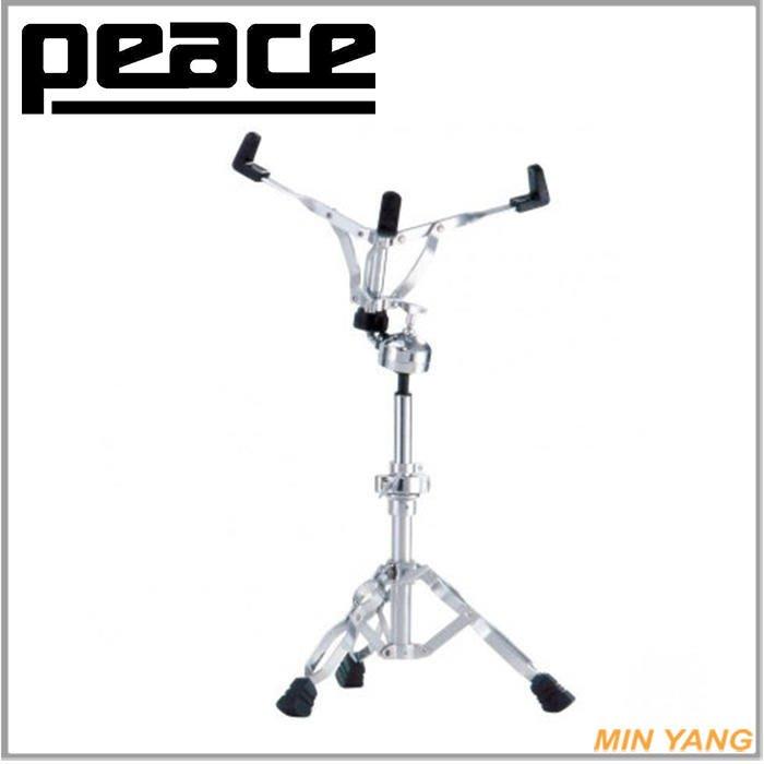 【民揚樂器】小鼓架 PEACE SS610 台灣製造 可自由調整鼓架高度與鼓面角度