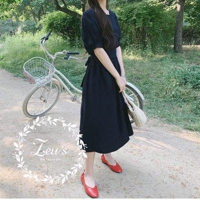 【ZEU'S】復古簡單休閒長洋裝『 06219624 』【現+預】FA