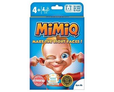 骰子人桌遊-(超優惠.附中規)嘻皮笑臉MimiQ(表情遊戲.體驗認知.情緒探索教育)鬼臉.嬉皮