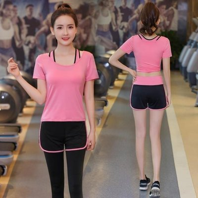 ZIHOPE 秋冬季瑜伽服套裝女新款專業運動跑步健身房初學者速亁ZI812