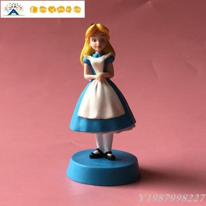 ❀Lexare❀正版散貨 夢游仙境 愛麗絲卡通動漫 蛋糕擺件 桌面擺件