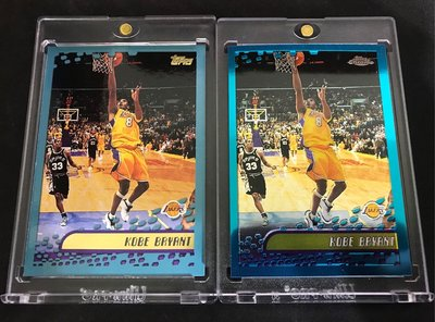 🐍2002-03 Topps #50 Kobe Bryant (兩張含Chrome)