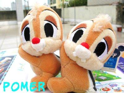☆POMER☆日本限定景品 SEGA絕版正品 迪士尼 Chip `n` Dale 奇奇蒂蒂 手可以夾夾樂裝飾 娃娃玩偶