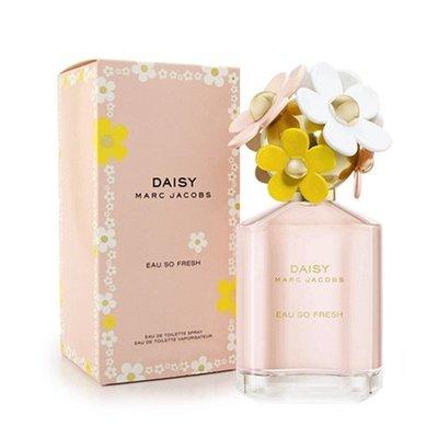 Marc Jacobs DAISY EAU SO FRESH 清甜雛菊 女性淡香水 125ML ✪棉花糖美妝香水✪
