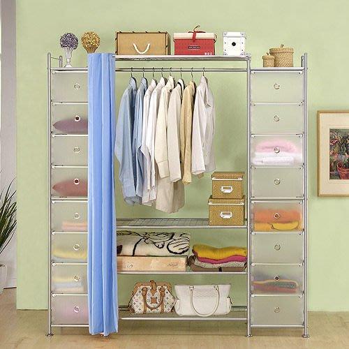 【中華批發網DIY家具】D-60-13-PP+W4+PP型90公分衣櫥櫃-(前罩)不織布