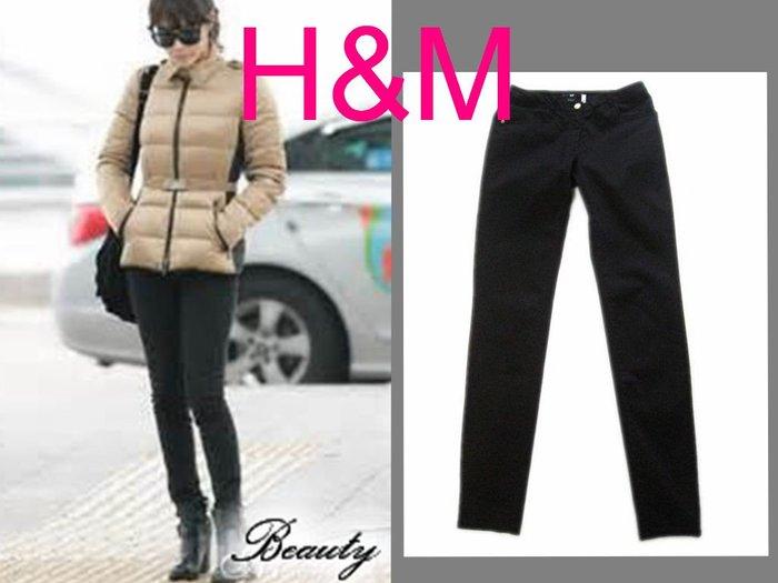 *Beauty*H&M黑色緊身長褲