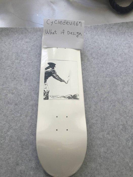 Supreme Raymond Pettibon Bang Skateboard Deck Multi 滑板 隱形鋼印