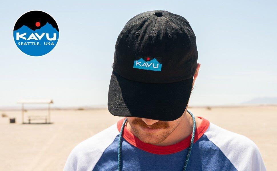 南 現貨 Kavu  Required Baseball Cap 黑色 老帽 運動帽 棒球帽 刺繡 男女 帽子