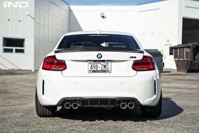 ✽顯閣商行✽美國RKP BMW F87 M2 Competition 碳纖維尾翼 碳纖維鴨尾 空力套件 F22
