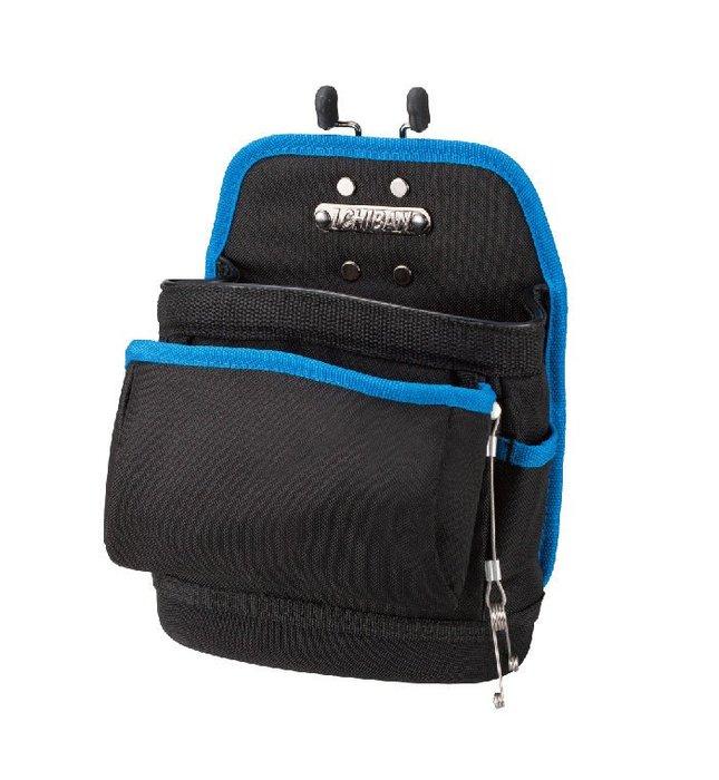 【I CHIBAN 工具袋專門家】JK6001 夾型通用釘袋 快拆系列 耐用防潑水 腰袋 插袋 工作袋 零件袋 收納袋