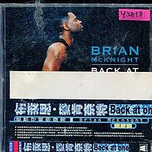 *還有唱片行* BRIAN MCKNIGHT / BACK AT ONE 二手 Y2818