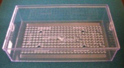 [ 台中水族] 上部過濾專用--生化滴流盒30*17*7cm 特價--便當盒