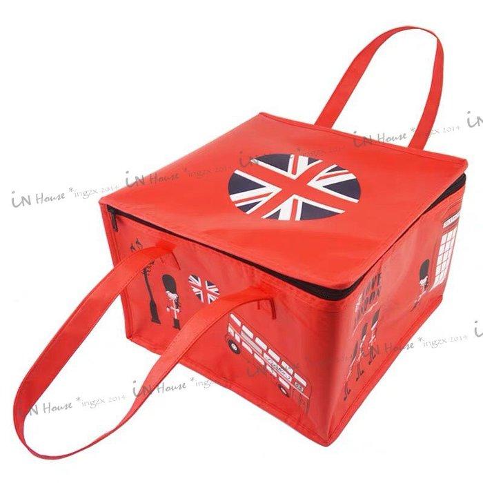 IN House*現貨 thermos bag 6吋 紅衛兵 蛋糕 保冷袋 保溫袋 鋁箔便當袋 野餐保溫袋 冷熱 保鮮包
