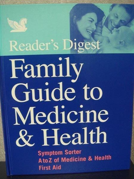 全新原文養生精裝書【Family Guide to Medicine and Health】,低價起標無底價!免運費!