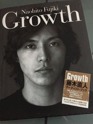 2002年發行 藤木直人 Naohito Fujiki Growth 日文版寫真書(珍藏價880元免運費)