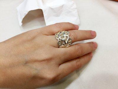 名品商行*~HERMES~*Hermes  銀飾 戒指  52號  全新  盒子