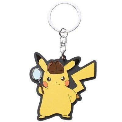 全新 3DS名偵探皮卡丘 特典 鑰匙圈 非遊戲【歡樂屋】