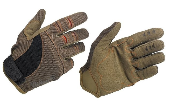 (I LOVE樂多)USA Biltwell MOTO GLOVES - BROWN/ORAN bmx 騎士手套 咖啡色