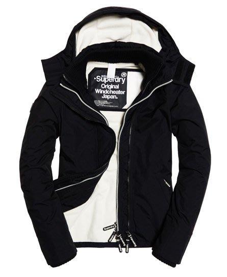 黑白 經典情侶款 現貨 極度乾燥 Superdry Arctic Windcheater 刷毛保暖防風 風衣 外套