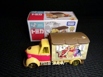 日本 迪士尼 小熊維尼 跳跳虎 屹耳 宣傳車 TOMICA 多美小車 現貨