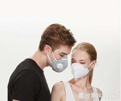 工業粉塵kn95時尚韓版防塵透氣防霧霾易呼吸 QM