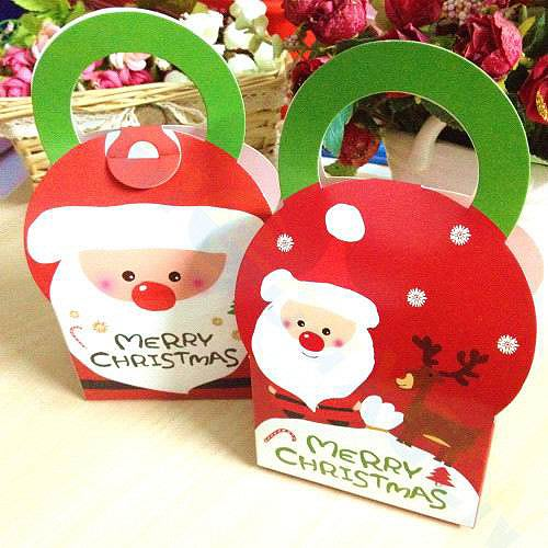 【洋洋小品聖誕老公包裝盒 糖果盒 餅干盒 西點盒 擺飾XTB2 聖誕禮物盒】中壢平鎮聖誕節喜慶舞會聖誕襪聖誕帽聖誕燈聖誕服