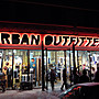 Cover Taiwan 官方直營 Urban Outfitters 拼接 撞色 嘻哈 復古半拉 大學T 長袖 (預購)